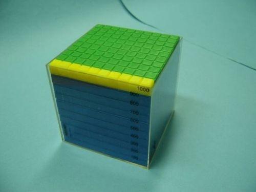 Kubikdezimeter-Würfel,