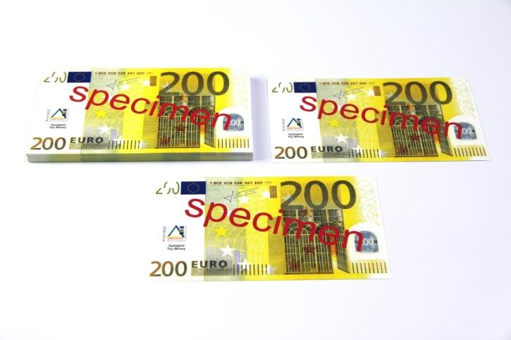 Euro-Scheine, 200 Euro