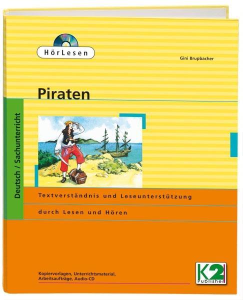 HörLesen: Piraten, 1 Hörbuch als Audio -CD, 12 -seitiges Lesehef