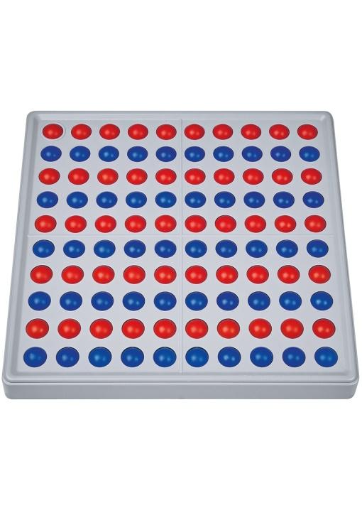 Abaco 100 Modell A, Kugeln: 10 rot / 10 blau