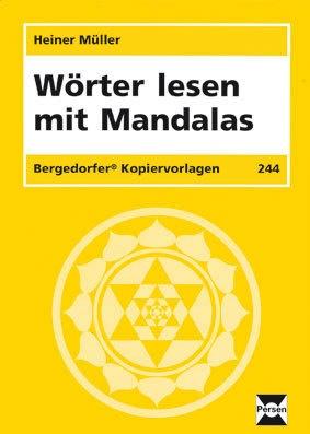 Wörter lesen mit Mandalas