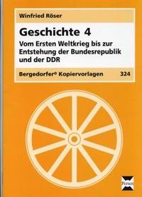 Geschichte 4, Erster Weltkrieg - beide deutsche Staaten