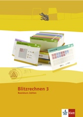 Programm Mathe 2000, Blitzrechnen,  Zahlenraum bis 1000, Basiskurs Zahlen, 3. Schuljahr