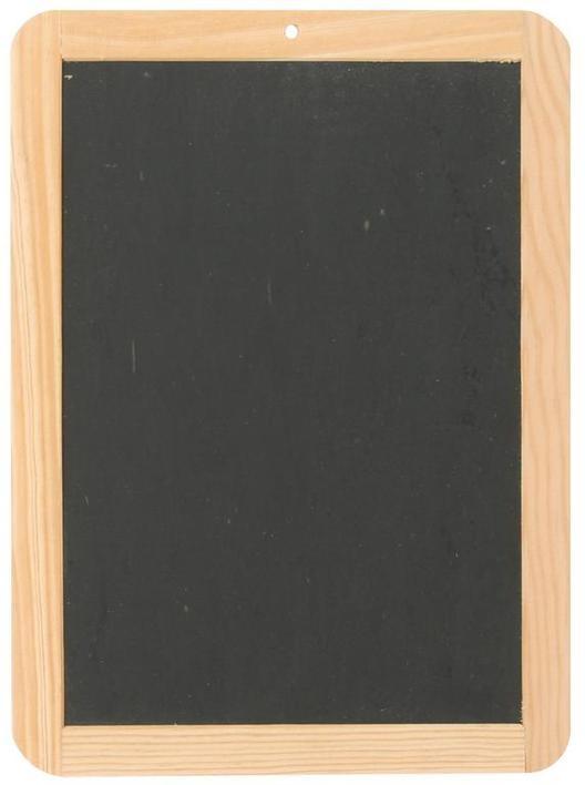 Schiefertafel 21,5 x 16 cm, Schreiben wie anno dazumal! Das orig
