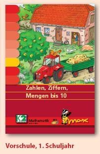 Max Lernkarten,  Zahlen, Ziffern, Mengen bis 10