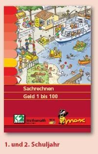 Max Lernkarten,  Sachrechnen Geld 1 bis 100