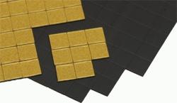 selbstklebedne Magnete 1x1 cm, P/100