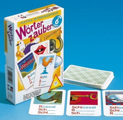 Wörterzauber, Mit diesem Spiel wird der Übergang vom Erfassen ga