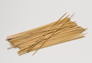 Holzstäbchen, 100 Stück