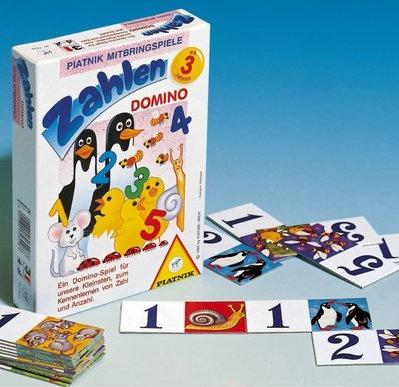 Zahlendomino, Ein Dominospiel für die Kleinsten. Geübt wird das
