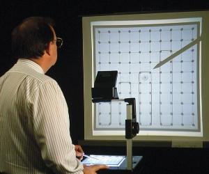Geobrett 10x10 Stifte, transparent für OHP