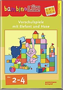bambinoLük-Heft Erstes Lernen mit Elefant und Hase