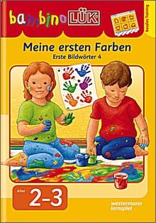 bambinoLük-Heft Meine ersten Farben, Erste Bildwörter 4