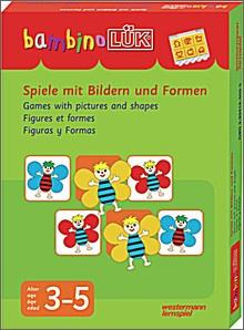 bambinoLük-Set Spiele mit Bildern und Formen