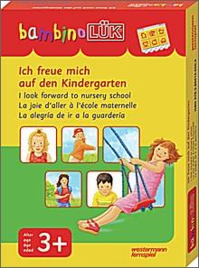 bambinoLük-Set Ich freu mich auf den Kindergarten