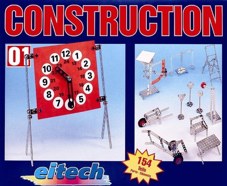Metallbaukasten Construction C01