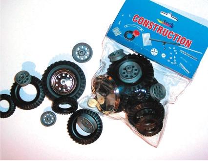 Ergänzungsbeutel C106, Radfelgen, Reifen, Laufräder