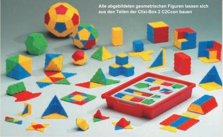 Clixi-Box 2 Color, Geometrieset