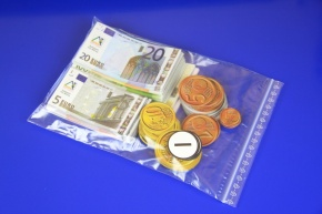Euro-Geldsatz magnethaftend, Klassensatz