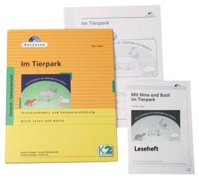 HörLesen: Im Tierpark, 1 Hörbuch als Audio -CD, 12 -seitiges Les