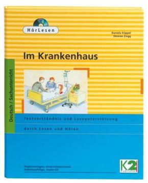 HörLesen: Krankenhaus, Hörbuch als Audio -CD, Leseheft