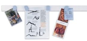 magnetowand®, weisses Leistenset 10 Stück à 50 cm lang, 5 cm breit