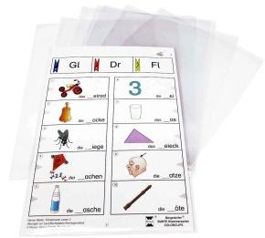 Karteitaschen für Klammerkarten