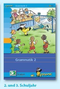 Max Lernkarten,  Grammatik 2, Sprache untersuchen