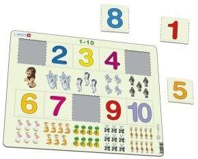 Puzzle - Mengenpuzzle im Zahlenraum bis 10