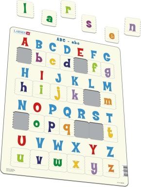 Puzzle - ABC-abc, Format 36,5x28,5 cm, Teile 29