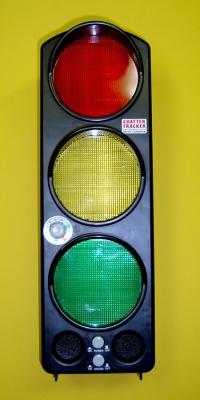 Lärmampel mit LED