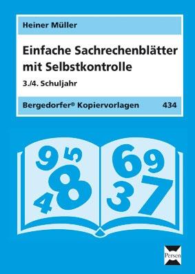 Einfache Sachrechenblätter - 3./4. Klasse
