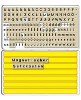 ABC Legekasten mit 180 magnetischen Buchstaben