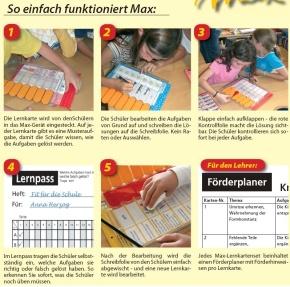 Max Lernkarten,  Geometrie 1 - Beobachten, erkennen, zeichnen